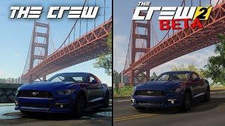The Crew vs The Crew 2 (BETA) | Direct Comparison
