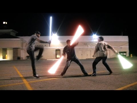Christie James - Lightsaber Dueling Is Now An Official Sport