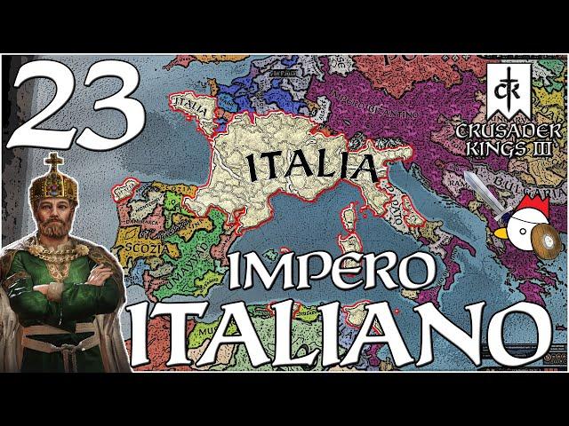 RITORNO IN AFRICA | Crusader Kings 3 ITA - IMPERO D'ITALIA #23
