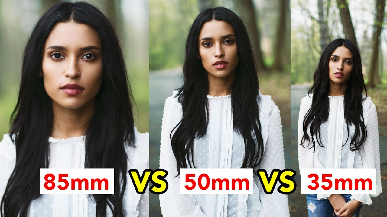 Image result for 35mm vs 50mm vs 85mm