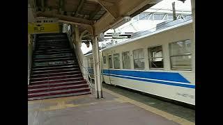 北陸本線457系普通列車 糸魚川駅 2008.11.15