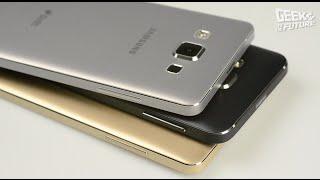 Обзор смартфонов Galaxy A: теперь они металлические!