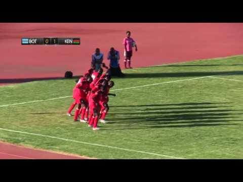 Botswana vs Kenya Match Highlights CAF U-20 Women's World Cup Qualifiers