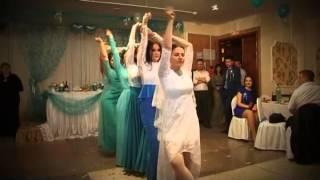 Танец невесты и её подружек)))