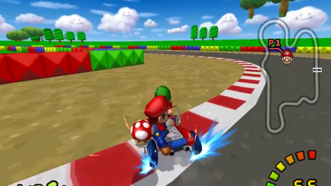 mario kart double dash tracks