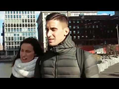 США: Прогулка по Downtown Brooklyn (сырое видео)