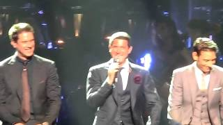 The Rabbit, Ding Dang Dong and the laughs,  IL DIVO San Diego 2012 July 17