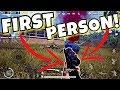 Sneak Peek: FIRST PERSON in PUBG MOBILE 0.6.0