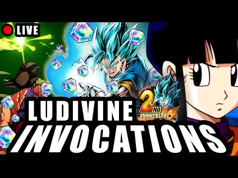 🔴 INVOCATIONS 25K CC DRAGON BALL LEGENDS DE LUDIVINE