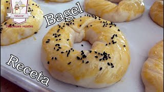 Receta de Bagels - Como hacer Rosquillas