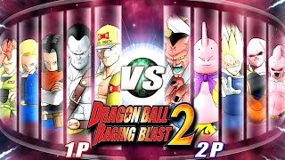 Dragon Ball Z Raging Blast 2 - Majins Vs Androids 2! (What If Battle)