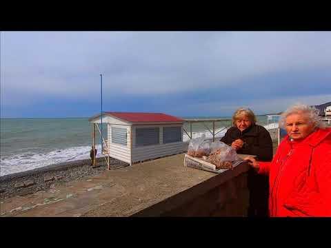 🔔Лазаревское море сегодня 2020 Сочи курорт зимой