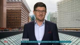 Marlon Amoyal aus Brüssel im Viorfeld des EU-Gipfels  zu den Brexit-Verhandlungen am 17.10.18