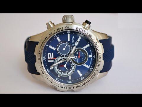 Распаковка и краткий обзор часов Nautica Men's NAD15513G