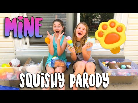 "SQUISHY ""MINE"" PARODY MUSIC VIDEO (original song by Bazzi)"