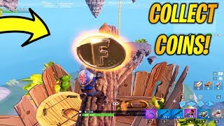 Collect Coins In Featured Creative Islands! Overtime Challenges Day 1! Fortnite