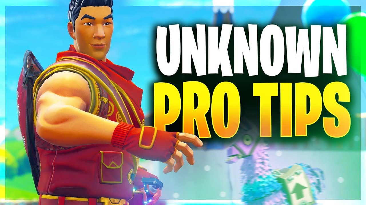 NEW PRO TIPS YOU NEED TO KNOW!! (Fortnite Battle Royale)