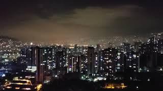 2020 New Year fireworks in Medellin