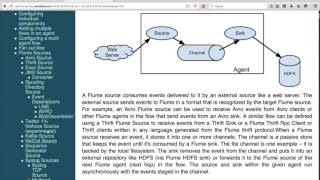 hadoop certification cca flume ingest real time data into hdfs