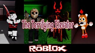 The Terrifying Elevator (Updates) By RyanTheGamer350 [Roblox]