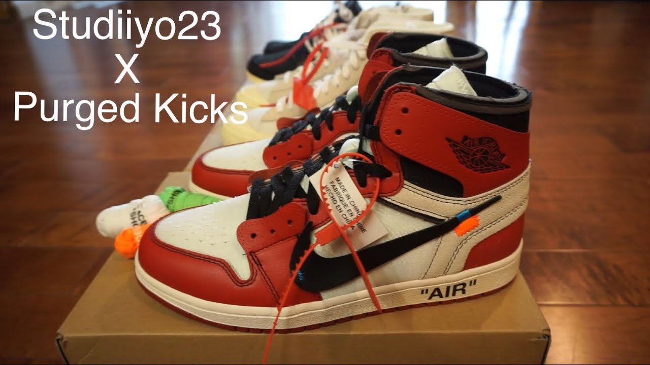 a2292d7c9d8 Studiiyo23 Vlog   Latest Pickups! Off White x Nike Sneakers! - YouTube