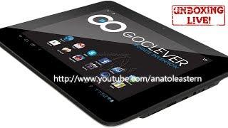 Распаковка планшета GOCLEVER TAB R83.2(Быстрая распаковка моего нового дешевого планшета от компании GOCLEVER. Цена на момент покупки и записи пример..., 2013-11-27T13:06:26.000Z)