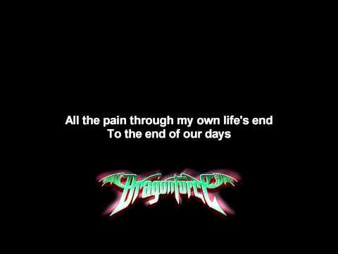 DragonForce - You're Not Alone | Lyrics on screen | Full HD