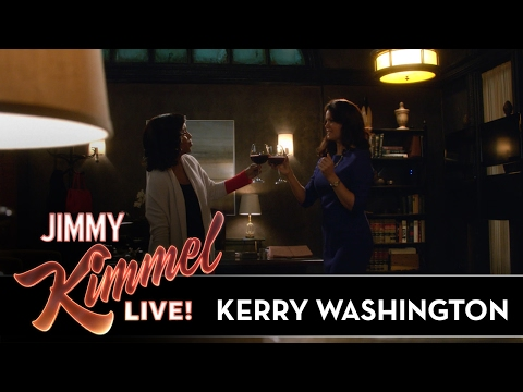 Kerry Washington on Scandal & Popcorn