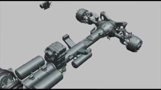 Как работает уникальная независимая подвеска нового полноприводного TATRA Phoenix