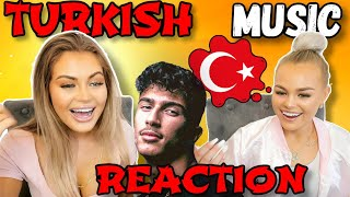 TURKISH MUSIC REACTION | Zehra, Mero, Ece Mumay, Enes Batur, Bilal Hancı, Irmak Arıcı