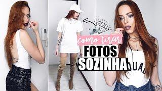 COMO TIRAR FOTOS GRINGA, SOZINHA, COM CELULAR 👽