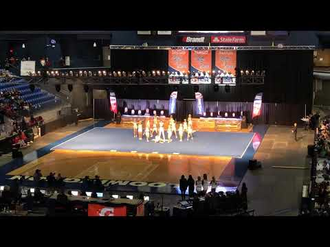 Grayslake Central Cheer @ IHSA State 2019 (Day 2)