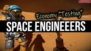 Space Engineers - 5 Idiots & The New Economy Update