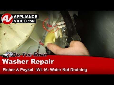 Fisher Paykell Washer - Diverter Valve Issues - Diagnostic & Repair -