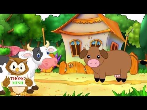 Bé tập nói qua hình ảnh động vật Tiếng Việt | em học đọc tên các con vật | Dạy trẻ thông minh sớm
