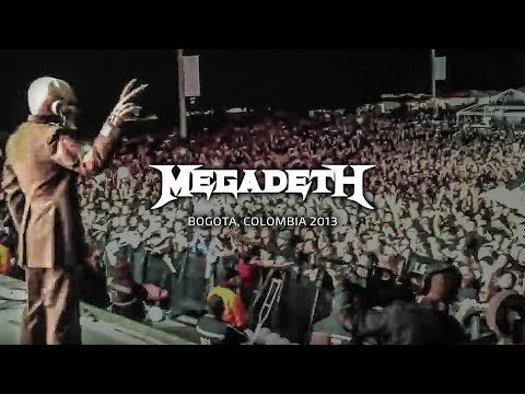 Megadeth - Bogota, Colombia - Black Sabbath, Megadeth Tour 2013 Thumbnail image