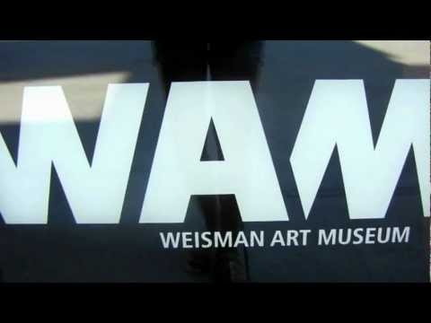 Weisman Art Museum -- University of Minnesota Parents Weekend 2012