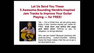The Ultimate FREE Jimi Hendrix backing tracks (Studio Quality)