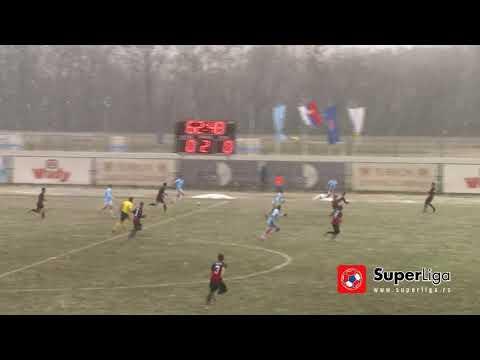 Super liga 201718: 21. kolo: RAD – MAČVA 0:2 0:0