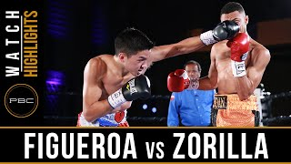 Figueroa vs Zorrilla HIGHLIGHTS: July 23, 2016 - PBC on NBCSN