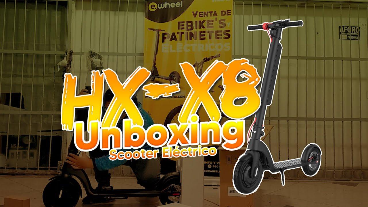 Imagen de Unboxing Scooter HX X8