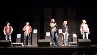 """Deep In the Heart of Texas"" by Dallas Audience (Home Free live)"