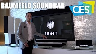 Raumfeld Soundbar mit Streaming-Funktion & Wireless Subwoofer (CES 2016) | Allround-PC.com