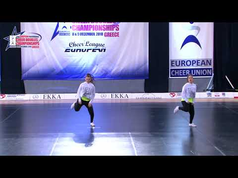 23 SENIOR DOUBLE CHEER HIP HOP Kovačević   Radić LET'S DANCE NEVESINJE BOSNIA & HEZERGOVINA