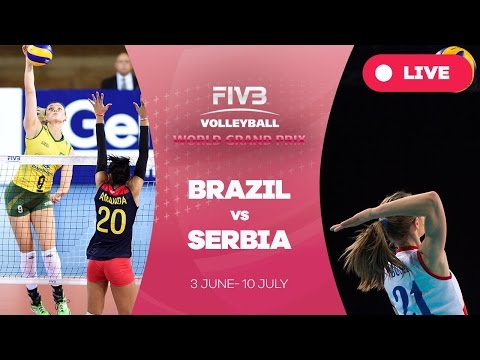 Brazil v Serbia - Group 1: 2016 FIVB Volleyball World Grand Prix