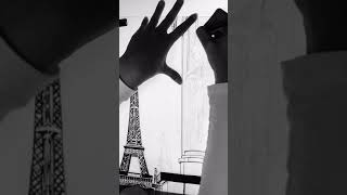 Live Drawing - Eiffel Tower, Paris