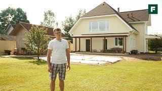 видео Каркасный дом своими руками. Крыша каркасного дома