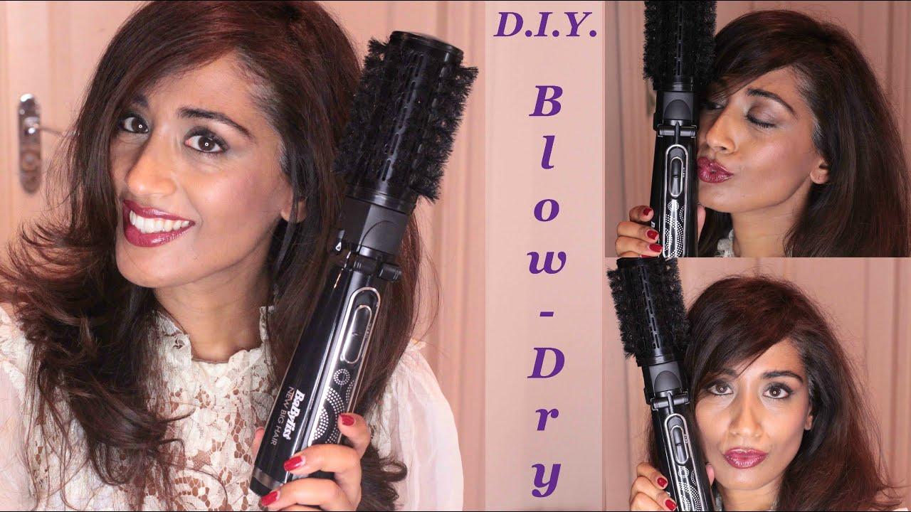 Tutorial Diy Babyliss Big Hair Blow Dry Beauty