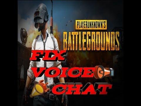 Fix 📣📢 voice chat in pubg mobile!!!