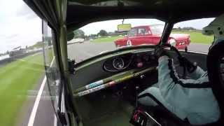 Mini v Lotus Cortina - Epic Pass and Victory Celebration